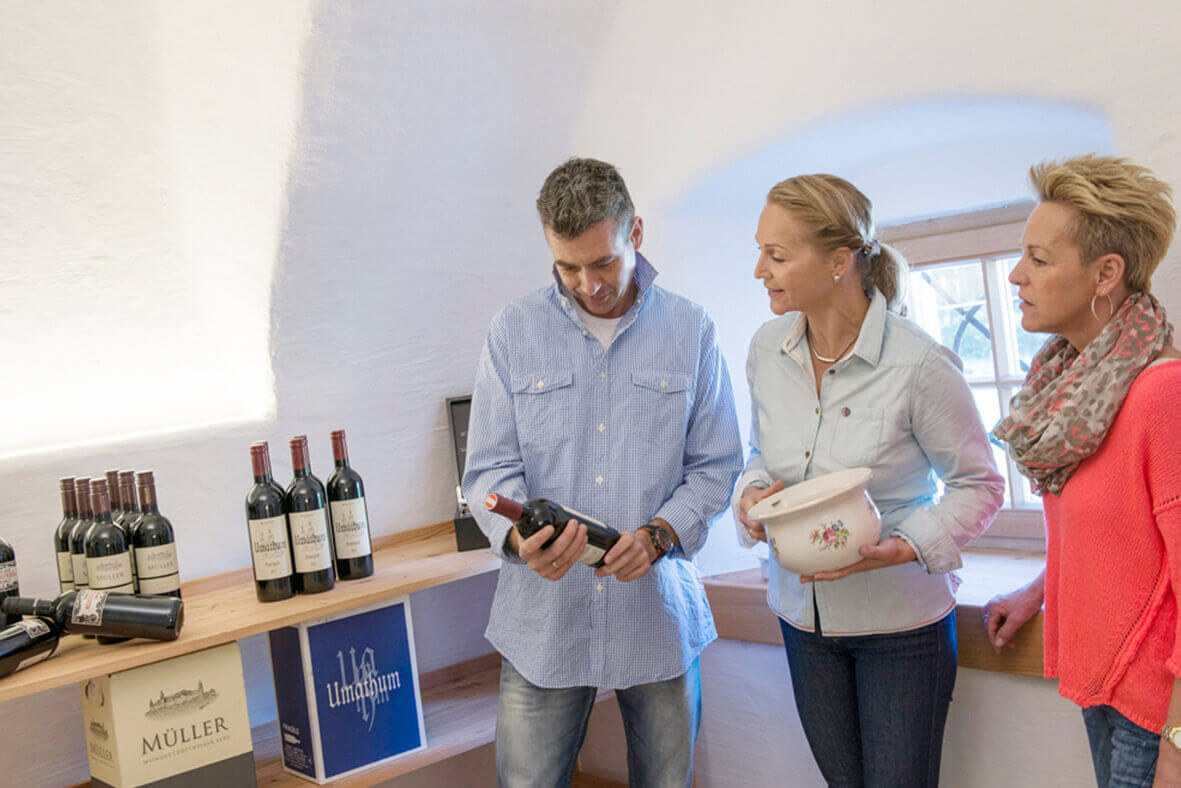 The Rauchkuchl offers a fine selection of good wines